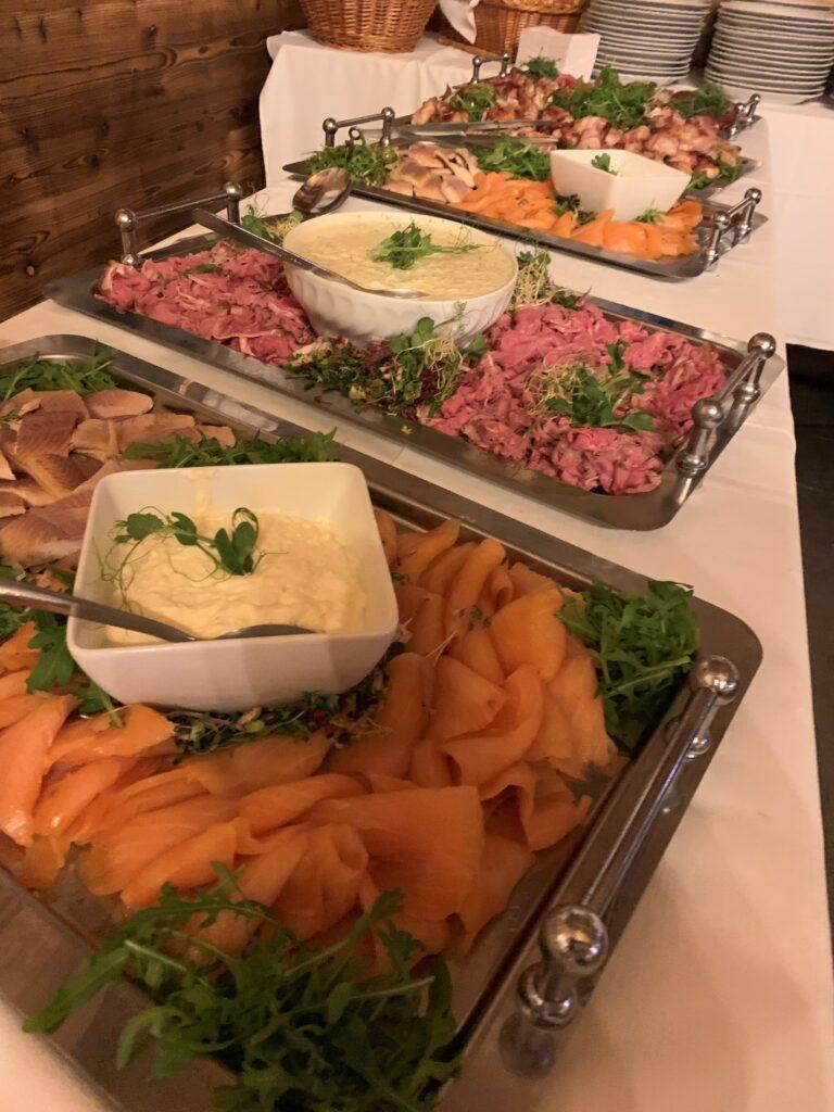 dorf wirt restaurant catering 3 buffet roastbeaf lachs