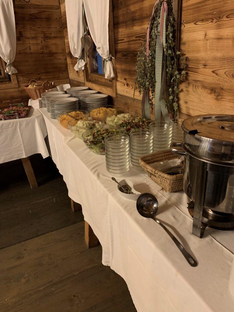 dorf wirt restaurant catering 4 buffet