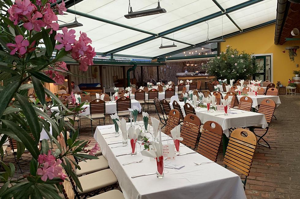 dorf wirt restaurant gastgarten 1